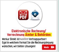 Elektronische Rechnung/Verrechnung für Ämter & Behörden