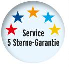 5-Sterne Service-Garantie